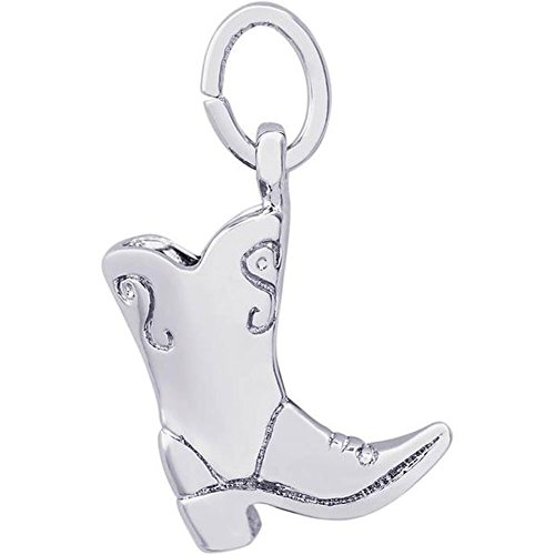STERLING SILVER COWBOY BOOT ()