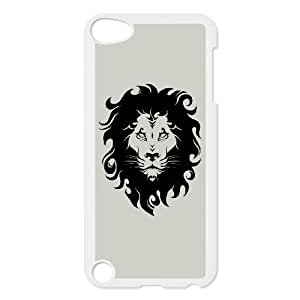 iPod Touch 5 Case White Tribal Lion