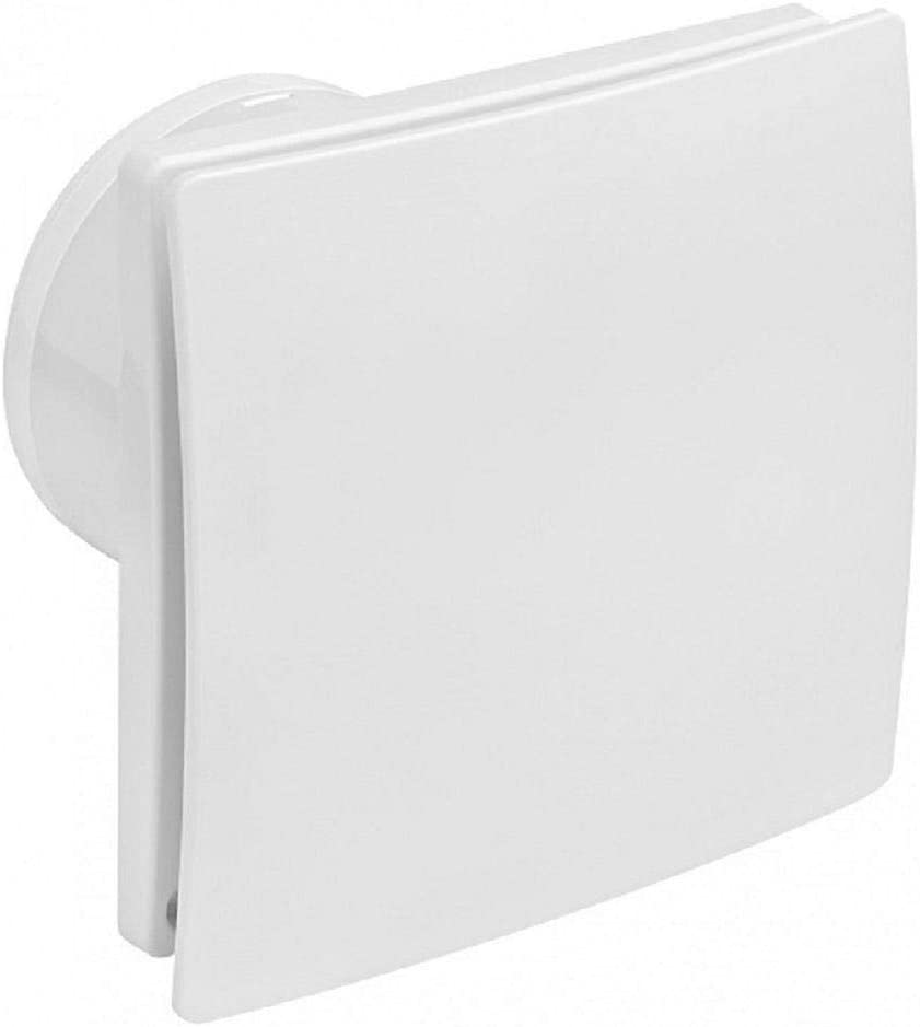Ventilador extractor de aire para baño, inodoro, fino, 8 mm, de ABS con red antiinsectos (150)