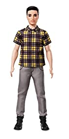 Barbie Ken Fashionistas Chill in Check Doll, Broad