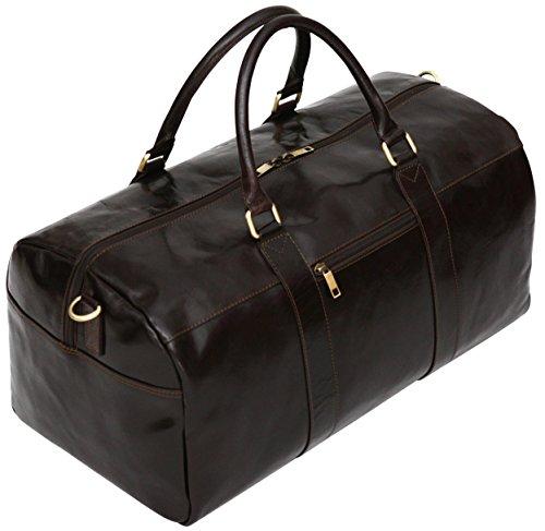Reisetasche aus Echtleder - Handgepäckgröße