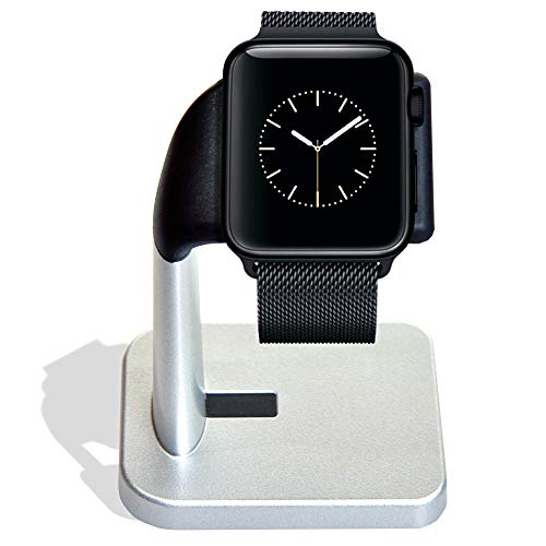 MELKIOX Apple Watch Charging Stand Compatible with iWatch Nightstand Charger Series 4 / Series 3 / Series 2 / Series 1…
