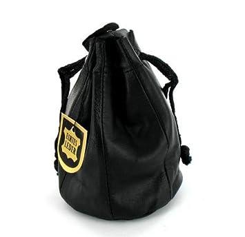 401de7342fbb0 Tabakbeutel Zugbeutel Leder schwarz mit Futter  Amazon.de  Küche ...