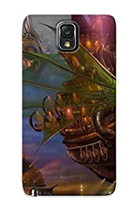 Crazinesswith Hot Tpye Steampunk Ship Case Cover For Galaxy Note 3 For Christmas Day's Gifts