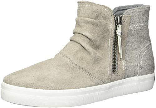 Sperry Top-Sider Girls' Crest Zone Sneaker, Grey, 11 Medium US Little Kid