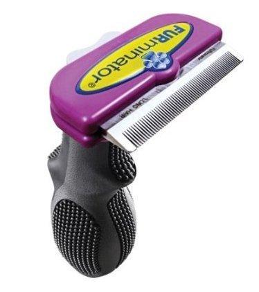 - FURminator deShedding Tool Brush for Cats short hair, large