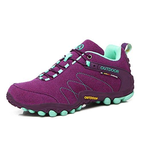 Altijd Mooie Dames / Heren Wandelen Wandelpad Schoenen Casual Loopschoenen Sneakers Paars