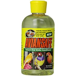 Zoo Med AvianSafe Water Conditioner for Birds, 8-3/4-Ounce