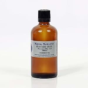 Aceite de Semilla de Mostaza 100 ml / Puro y Prensado en Frío