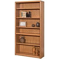 Martin Furniture Contemporary 6 Shelf Bookcase - Fully Assembled