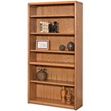 Martin Furniture Contemporary 6 Shelf Bookcase - Fully Assembled