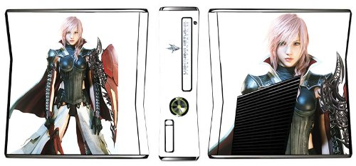 Lightning Returns: Final Fantasy XIII Game Skin for Xbox 360 Slim Console (Final Fantasy 13 Lightning Returns Xbox 360)