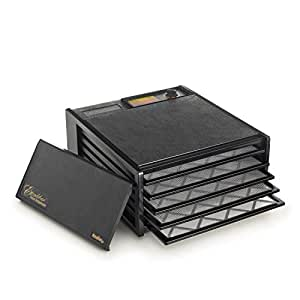 Excalibur 3500B Excalibur 3500B 5 Tray Deluxe Dehydrator Black, 1, Black