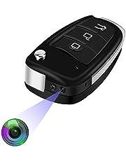 Verborgen Draagbare Kleine Camera - HD 1080P Cam Spionage Camera Autosleutelhanger Met Bewegingsdetectie En IR-nachtzicht