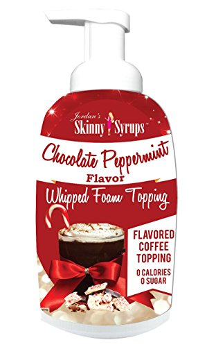 Jordan's Skinny Syrups Chocolate Peppermint Whipped Foam Topping