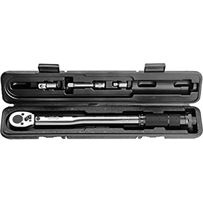 EPAuto 3/8-Inch Drive Click Torque Wrench (10-80 ft.-lb. / 13.6-108.5 Nm)
