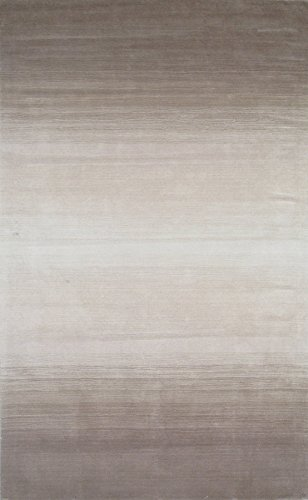 Momeni Rugs METROMT-12TAU80B0 Metro Collection, 100% Wool Hand Loomed Contemporary Area Rug, 8' x 11', Taupe