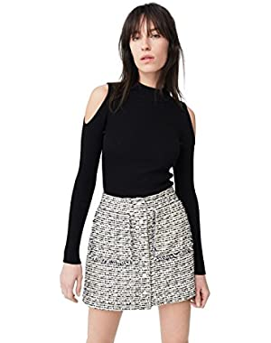 Mango Women's Tweed Skirt