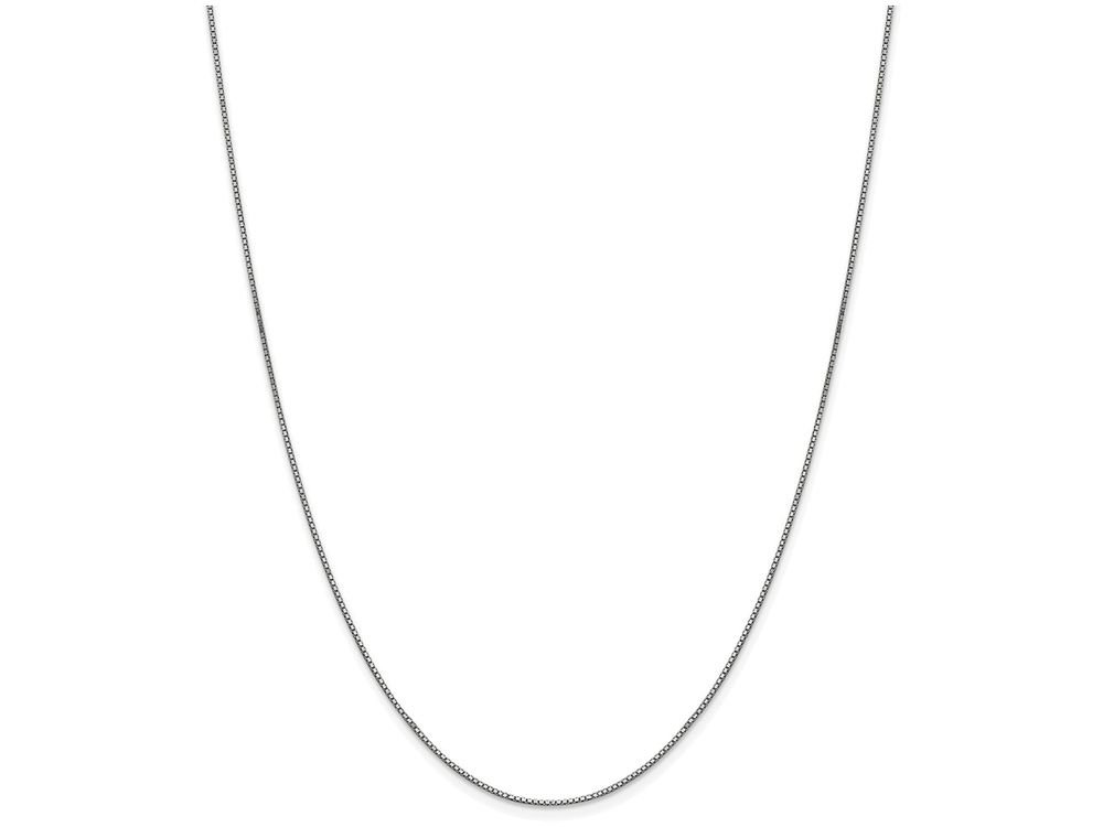 Finejewelers 20 Inch 10k White Gold .90mm Box Chain Necklace