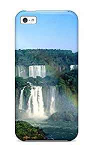 Carrie Diy Anti-scratch And Shatterproof Iguazu Waterfalls cell phone case cover For jrk9e7VtlQZ Iphone 5c/ High Quality case cover