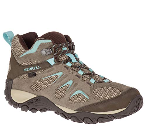 Merrell Yokota Hiking Mid 2 Boot Women's Boulder Waterproof rxawgqrA