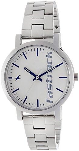 Fastrack Fundamentals Analog White Dial Women's Watch NM68010SM01 / NL68010SM01
