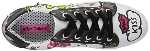 Betsey Johnson Women's Willow Sneaker White/Multi cD0hRNyZe