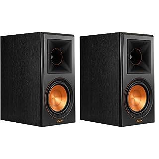 Klipsch RP-600M Bookshelf Speakers (Pair) (Piano Black)