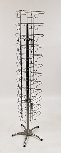 BUMPER STICKER DISPLAY - Spinning Wire Rack (Sticker Display Rack compare prices)