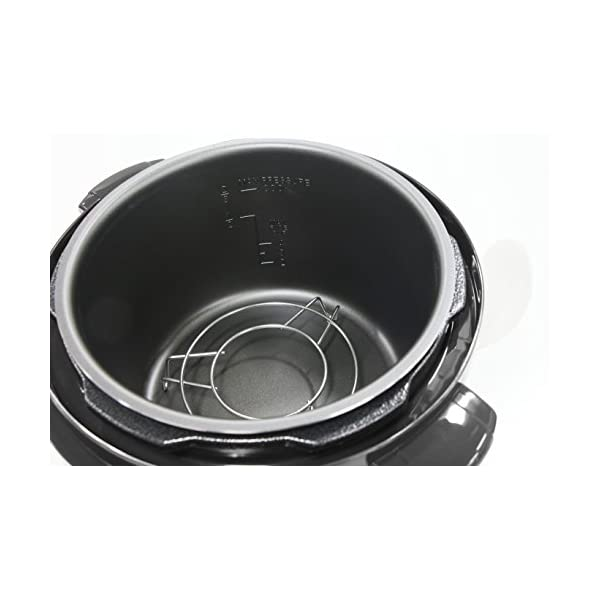 Elite Gourmet Pressure Cooker, 4 quart, Black 5