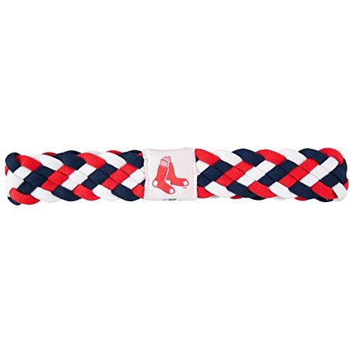 Littlearth MLB Boston Red Sox Braided Headband Boston Red Sox Headband