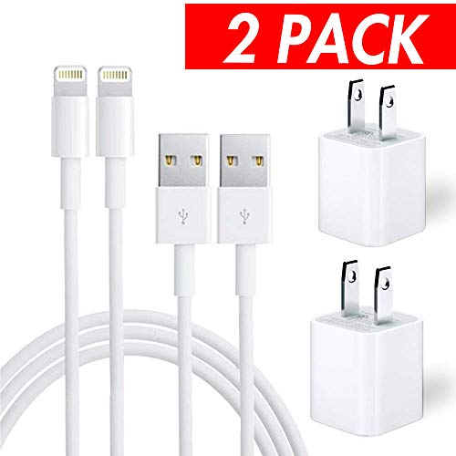 Certified Chargers 2 Pack Charging Adapter Travel Wall Charg