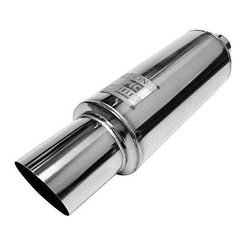 Exhaust Systems Buddy Club Spec (Buddy Club BC03-PSUNI300-S Pro Spec Silver 3.0