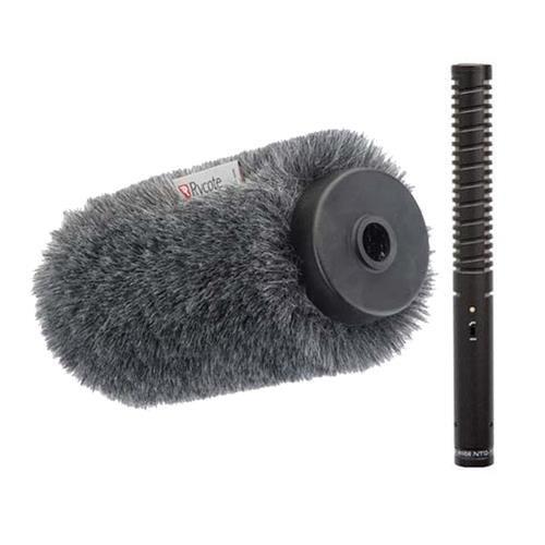 Price comparison product image Rode NTG-1 Directional Condenser Shotgun Mic KIT w / Rycote Softie,  Long Hair