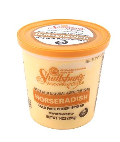 Shullsburg Creamery - Horseradish Cold Pack Cheese Spread - 14 oz.