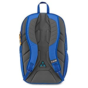 "JanSport Trans 20"" Capacitor Backpack Laptop School Bag, Blue Streak Orange"