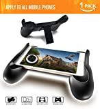 PUBG Mobile Controller,Android Gaming Controller Mobile Gamepad Fortnite Ergonomic Design Handle Holder Support 4.5 to 6.5 Smartphone (Black)