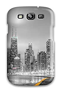 Awesome Chicago Flip Case With Fashion Design For Galaxy S3
