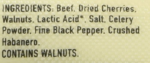 Epic All Natural Meat Bar, 100% Grass Fed, Beef, Habanero & Cherry, 1.5 ounce bar by Epic Provisions (Image #2)