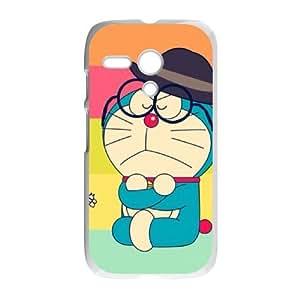 Personalized Protective Hard Plastic Case for Moto G - Cute Doraemon custom case at CHXTT-C
