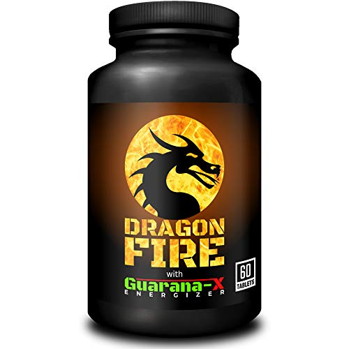 Dragon Fire with Guarana-X Energizer | Powerful Fat Burner & Energy Booster | Weight Loss & Slimming Supplement for Men…