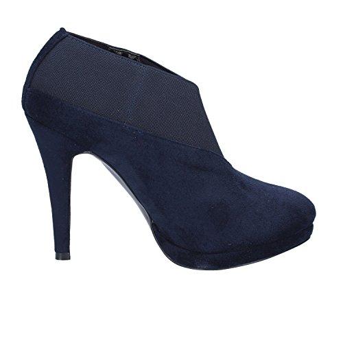 Boots Suede Blue Womens Ankle EU Braccialini 37 517wxf