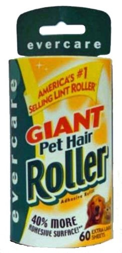 Evercare Giant Lint Roller Refill, 60 Sheets Roll, My Pet Supplies
