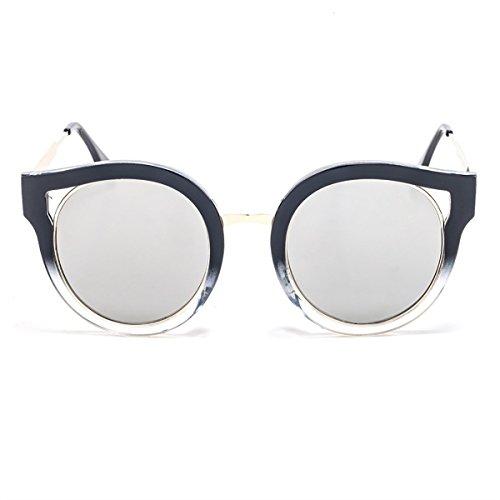 2018 hombre Personalizadas 11 Casuales Colocción AC Gafas Lente Con Clásicas Mujer para Smileyes UV400 y Nueva Sol de FqdFwg