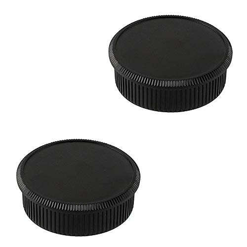 (2 Pack Camera Body Cap & Rear Lens Cap for M42 42mm Screw Mount Camera Lens Compatible for Leica M42 Thread Mount Camera and Lens)