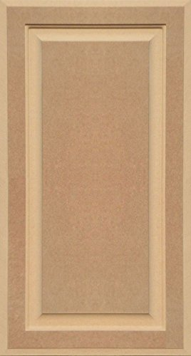 28h Cabinets (Unfinished MDF Cabinet Door, Square with Raised Panel by Kendor, 28H x 15W)