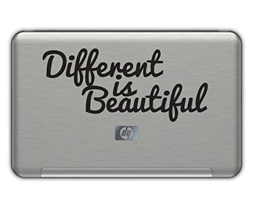 DIFFERENT IS BEAUTIFUL vinyl decal 4