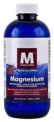 Liquid Ionic Magnesium (8 Oz - 96 Day Supply)