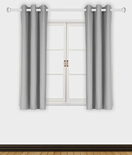 Allbright Room Darkening Thermal Insulated Blackout and Waterproof Window Curtain Panel for Bedroom and Living Room (1 Panel,W 42 X H 63-Inch,Slate)