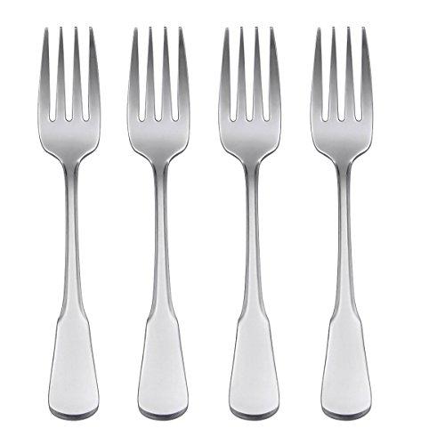 Oneida Flatware Colonial Boston Salad Forks, Set of 4